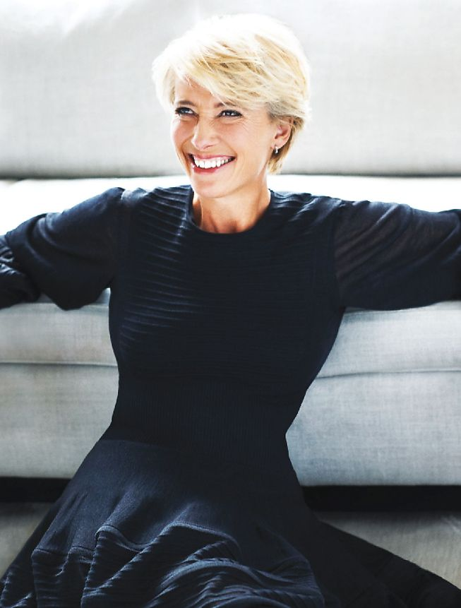 Emma Thompson - love her haircut, her personality, her ability to choose quality films.