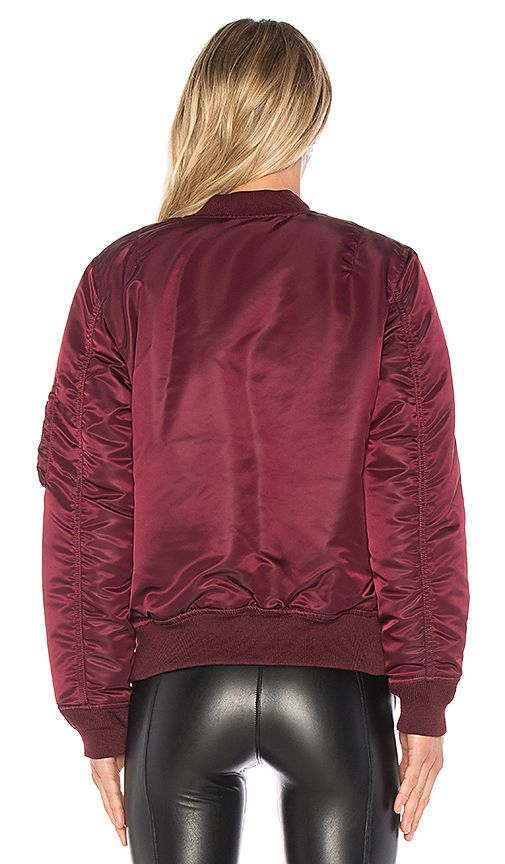 Shop for ALPHA INDUSTRIES MA-1 Jacket in Maroon at REVOLVE. Free 2-3 day shipping and returns, 30 day price match guarantee.