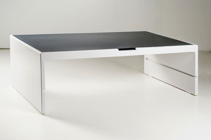 Coffee table Pont Wood and marble www.resine.info