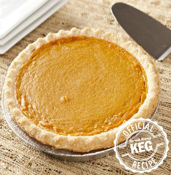 Baked on the grill..Traditional Pumpkin Pie recipe
