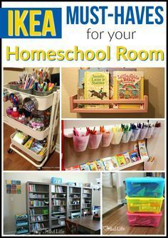IKEA Must-Haves for Your Homeschool Room