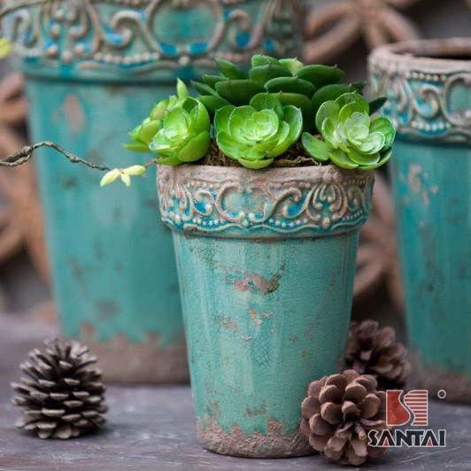 Vintage Flower Pot 24