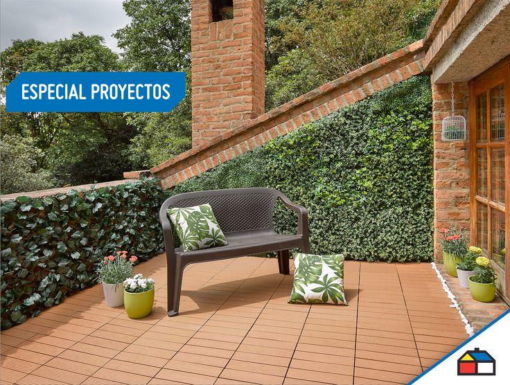 Ideas para decorar las paredes de tu terraza