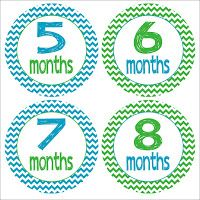 FREE DIY Monthly Baby Printables