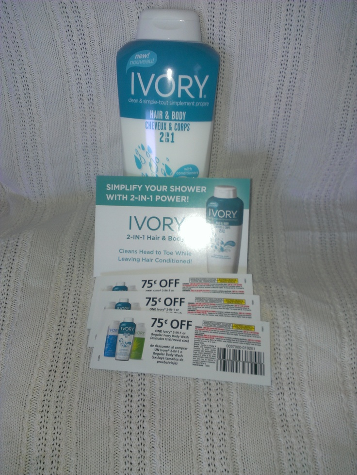 Ivory 2in1 Hair and Body wash. I received these products complimentary from @Influenster for testing purposes. #Ivory2in1Power
