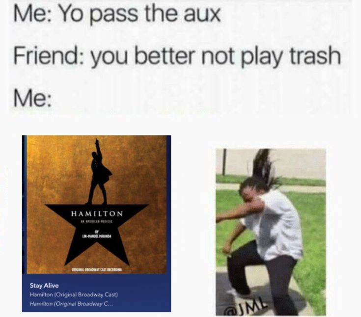 ExCUUsE Me, BuT HOW Is THe HAMilToN SouNdTraCk TRAsh, My GoOD SiR/LaDY???