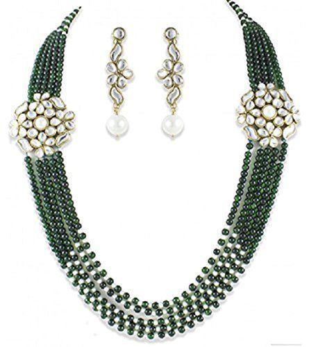 Bollywood style Green White Pearls Double Kundan Brooch T... https://www.amazon.com/dp/B01N8ZHJFZ/ref=cm_sw_r_pi_dp_x_izo2ybS0PKPQT