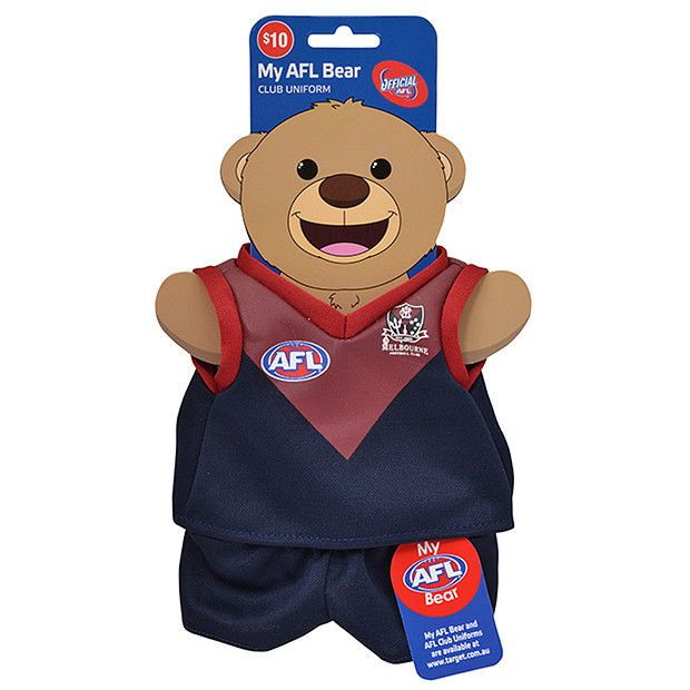 My AFL Bear Uniform - Melbourne Demons New From Target