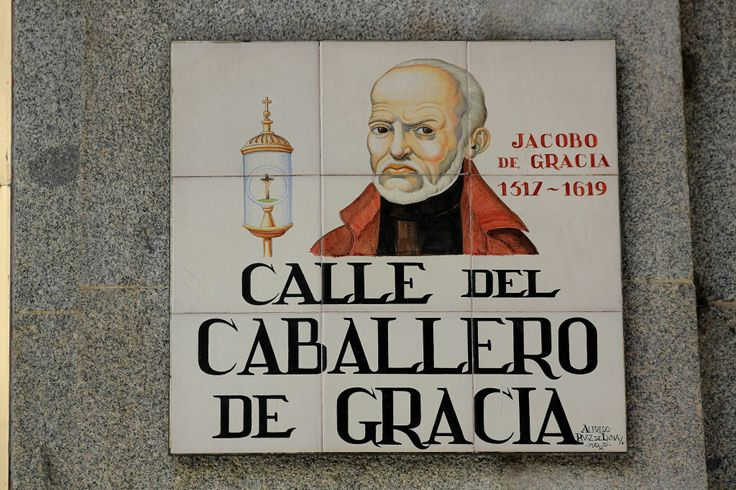 Calle Del Caballero de Gracia ( Madrid )