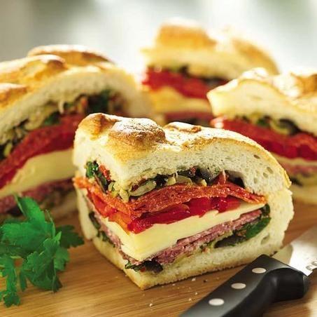 Italian Stuffed Sammies....