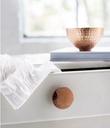 Hammered copper knob | H&M US