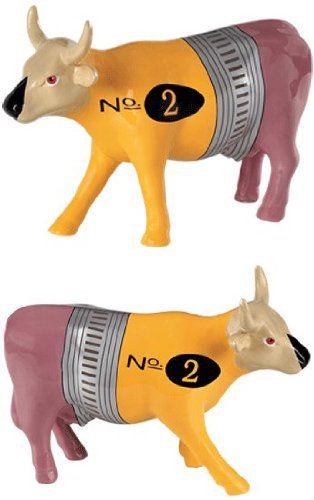 Cow Parade No. 2 Pencil Cow Figurine