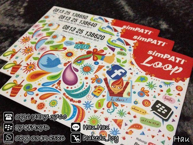 simPATI Loop - Kartu Segel (30 Juni 2014) - Isi pulsa Rp. 3.000,- - Bisa digunakan untuk Call / SMS - Cocok buat iPad, iPhone, Gtab S3, GNote2 dll.. - Gratis potong sim-card menjadi micro-sim utk iPad, iPhone, Gtab, S3, GNote2, dll www.telkomsel.com/simpatiloop  PRICE LIST @ Rp.15.000