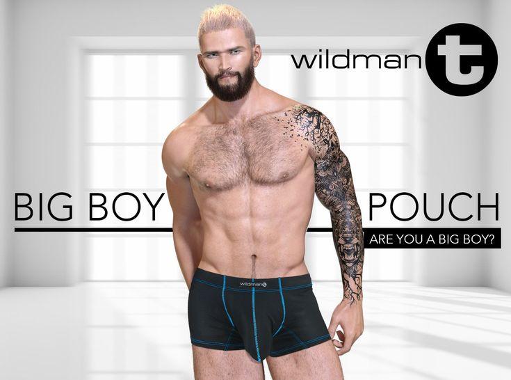 Wildmant slut big boy pouch see through back brief underwear slbr