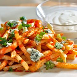 Buffalo Fries with Blue Cheese