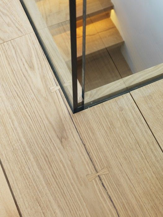Beverley Residence - Dinesen  balustrade/wood finish