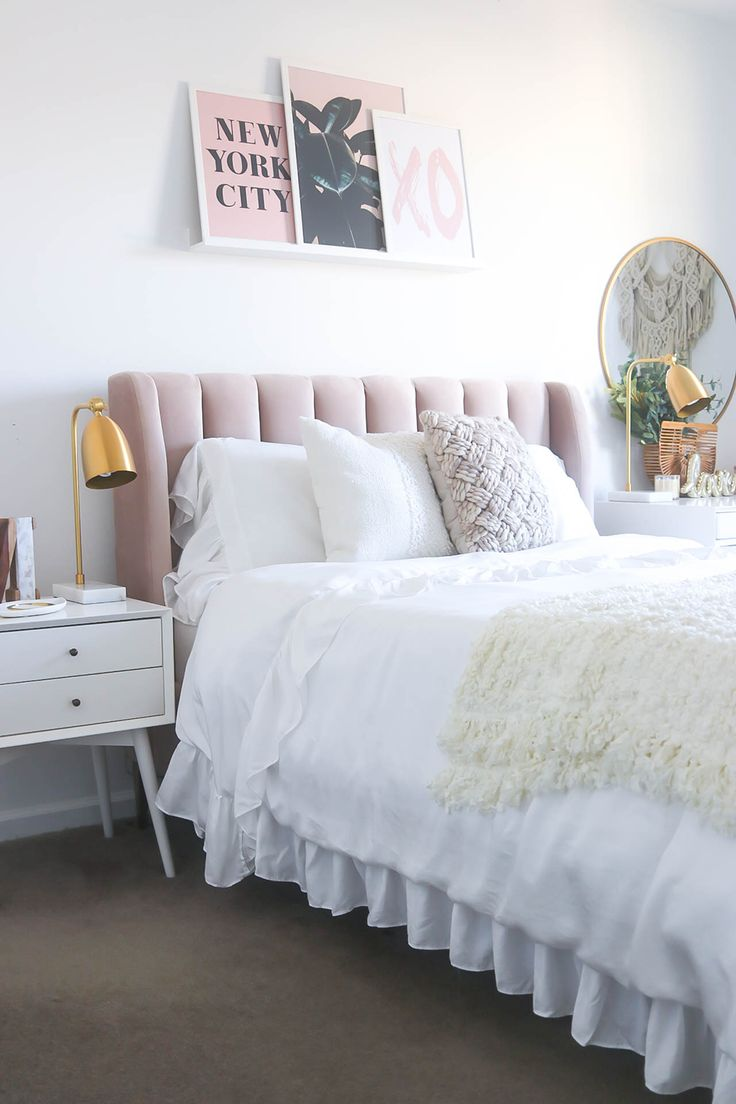 Best The 25 Best Pink Bedrooms Ideas On Pinterest Pink And 400 x 300
