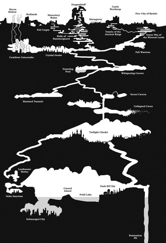 OEF Mystery Map Underworld Cutaway by
