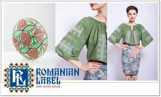 Easter clothes and decorations at Romanian Label