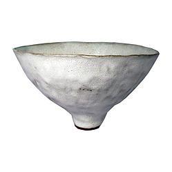 II by Alana Wilson white bowl