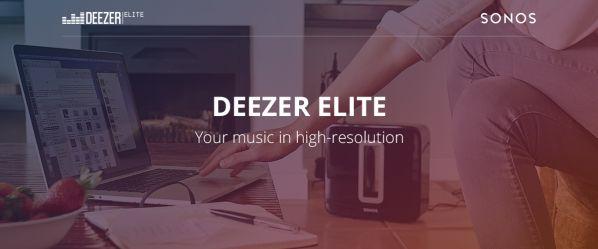 Deezer Elite : une nouvelle offre de musique en streaming haute résolution