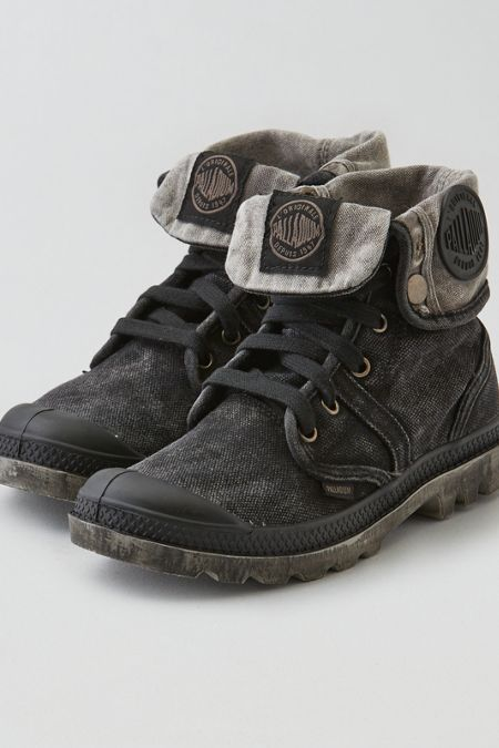 Palladium Pallabrouse Baggy Boot , Black | American Eagle Outfitters