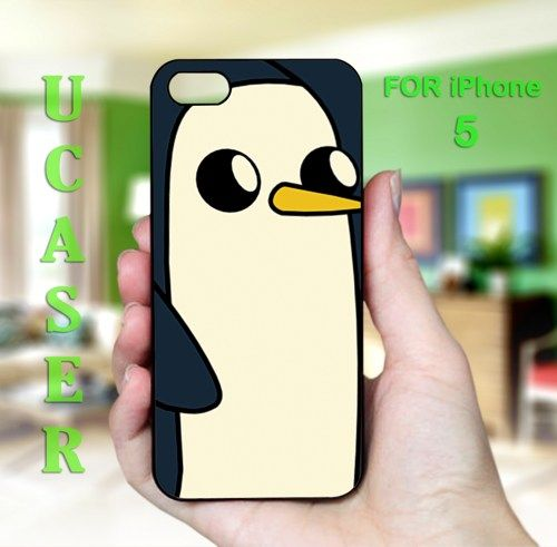 Gunter adventure time - Photo On Hard Cover Case For iPhone 5 | uCaser - Accessories on ArtFire