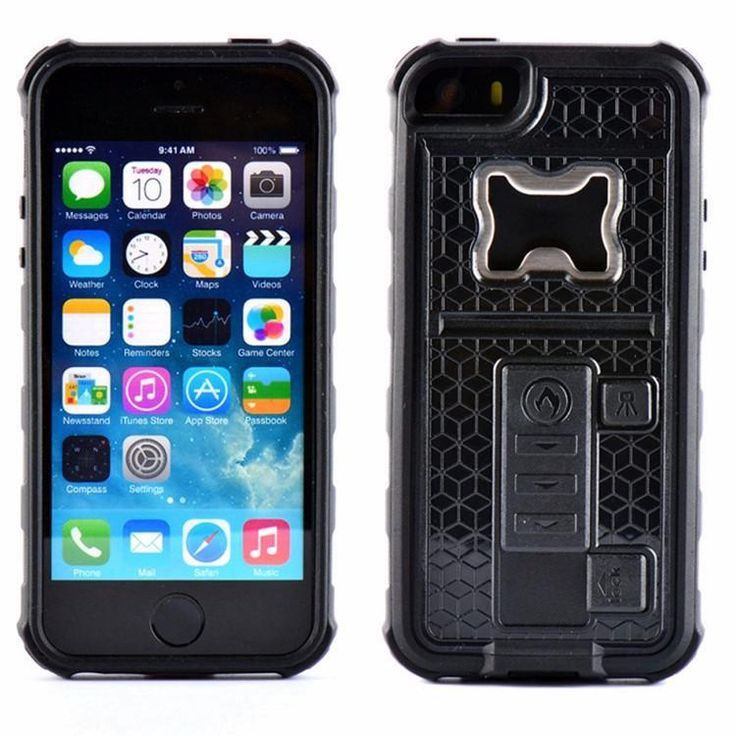 Sikai have come up with this innovative 3 in 1 case that mixes an armour case with a bottle opener and a cigarette lighter too. Made from PC material that protects your phone from drops, scratches and shocks. The cigarette lighter is powered by a built-in rechargeable battery that can be charged with a USB cable. Compatible with iPhone 6, 6 Plus, 6S, 6S Plus, 7, 7 Plus, 8 and 8 Plus, comes with USB charging cable. £19.99 with Free Shipping!