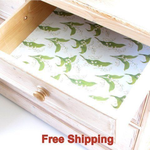 English Lily Scented Drawer Liners By Best British Gifts Drawer Liner Scented Drawer Liner British Gifts