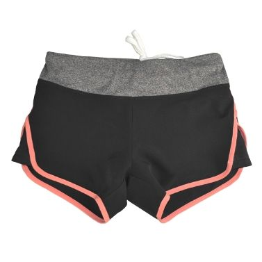 Only US$30.46, New Women Sports Shorts Yoga Pants Contrast - Tomtop.com