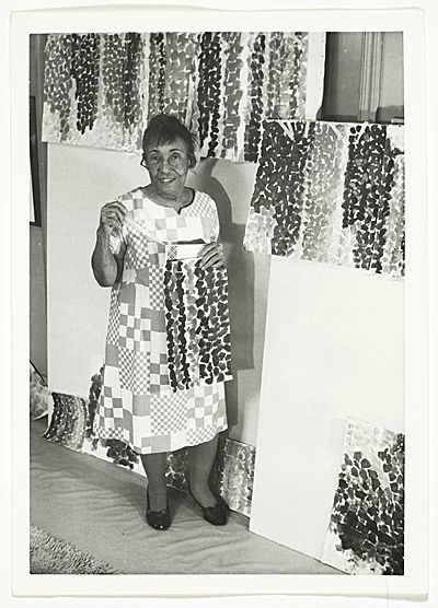 Alma Woodsey Thomas (September 22, 1891 – February 24, 1978) was an African American Expressionist painter and art educator. She lived and worked primarily in Washington, D.C. and the Washington Post described her as a force in the Washington Color School.