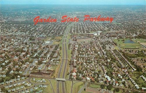 New #jersey~aerial #view: garden #state parkway~homes~bridge~overpasses~1950s,  View more on the LINK: http://www.zeppy.io/product/gb/2/291810074042/