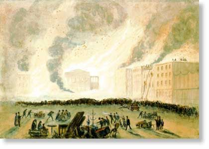 San Francisco Fire of 17 September 1850