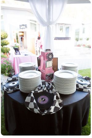 A 50′s Style Birthday Party | Party Theme Ideas