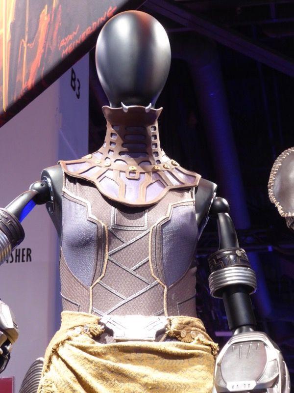 Black Panther Shuri film costume
