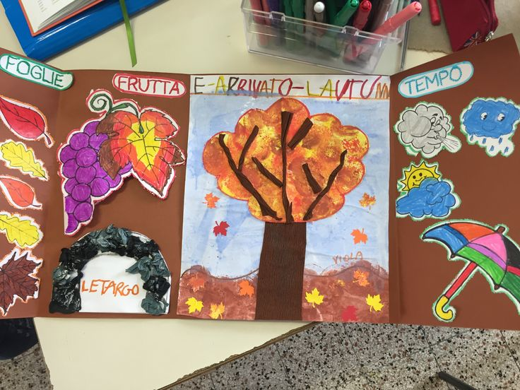 lapbook d'autunno