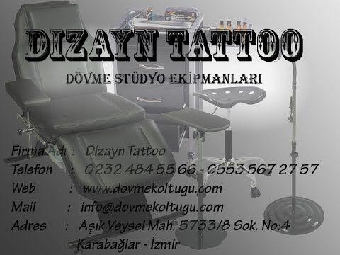 Dizayn Tattoo - Dövme Stüdyo Ekipmanları Set-1
