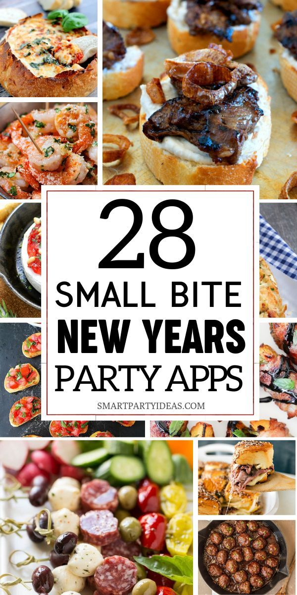 28 Easy Appetizers For A New Years Eve Party Mom Blogger Roundup