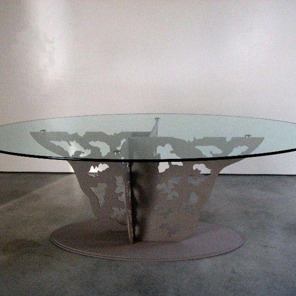 7 best tavolo cristallo images on Pinterest | Art designs, Art ...