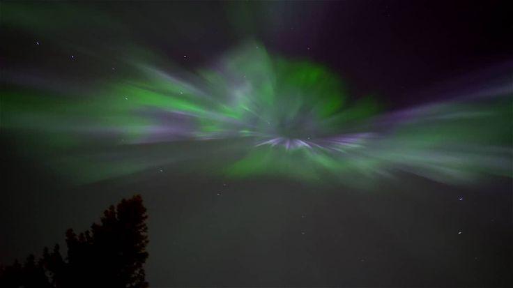 Real-Time Northern Lights 17.3.2015 - Kajaani, Finland on Vimeo
