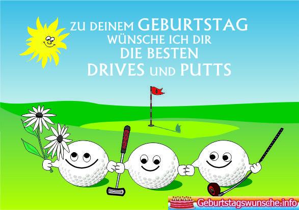 Geburtstagswünsche für Golfer | Geburtstagssprüche