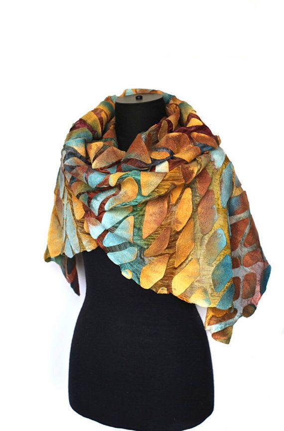 Silk Square Scarf - Palms & Squiggles by VIDA VIDA rsiq7PYU6