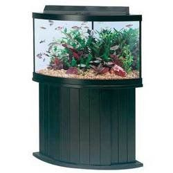 ll Glass Aquarium AAG55054 Pine Cabinet, 54ct
