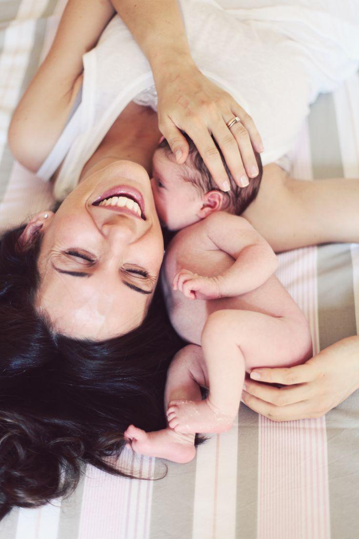 a sweet mom