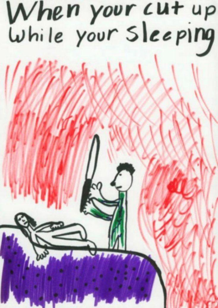 9 inapropiados y perturbadores dibujos hechos por niños…