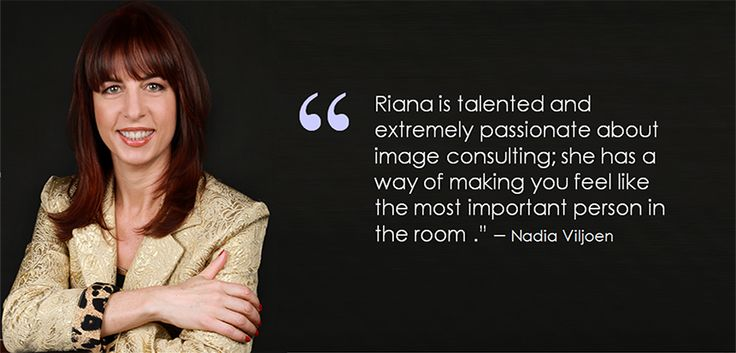 """For Riana Meyer, Chata Romano's newest Senior Image Consultant, ensuring success is all about integrity, confidence and showcasing a true passion for the people she works with and finding the best possible way to let their inner potential shine – """"I believe everybody has a purpose in life and often people are unaware of it or they simply just don't believe in themselves"""", says Riana."""
