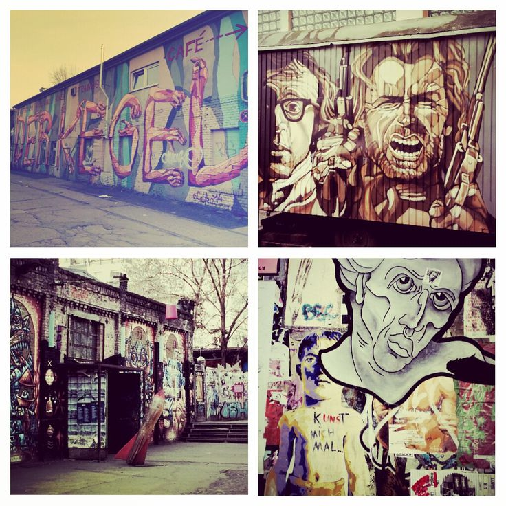 Street art Berlin Est