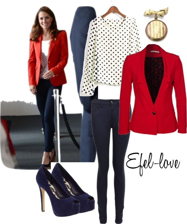 """""""Look for Less: Kate Middleton"""" by efel-love on Polyvore"""