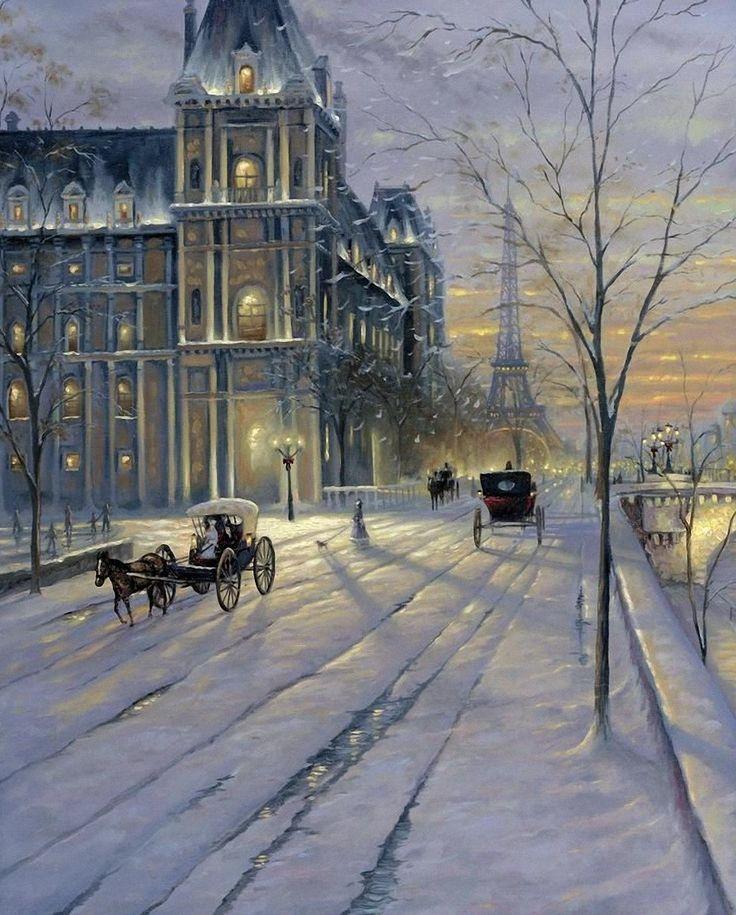 Winter in Paris by Robert Finale