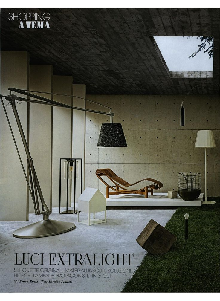MARIE CLAIRE MAISON - TOKYO OUTDOOR, design Charlotte Perriand